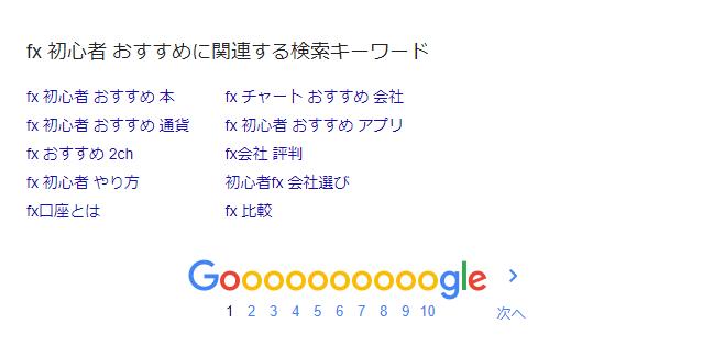 fx 初心者 おすすめ Google